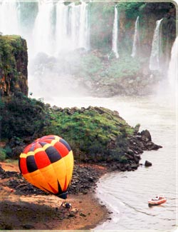 Iguaçu in balloon