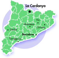 Cerdanya location map