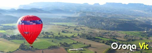 ballooning over Osona, Vic