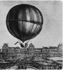 Image result for hot air balloon history